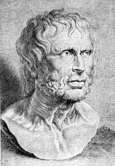 Estilpón(360a.C.a280a.C.[1])fue un discípulo deDiógenes de Sinopey el representante de laescuela megárica, que criticaba la teoríaplatónicaque enunciaba la imitación mutua entre la realidad sensible y el ser. Antes de encabezar la escuela megárica había pasado por la escuela cínica, probablemente por influencia de Diógenes de Sinope.