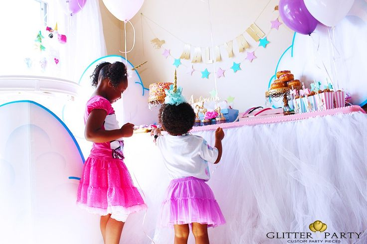 Unicorn Party Ideas TheGlitterParty.com