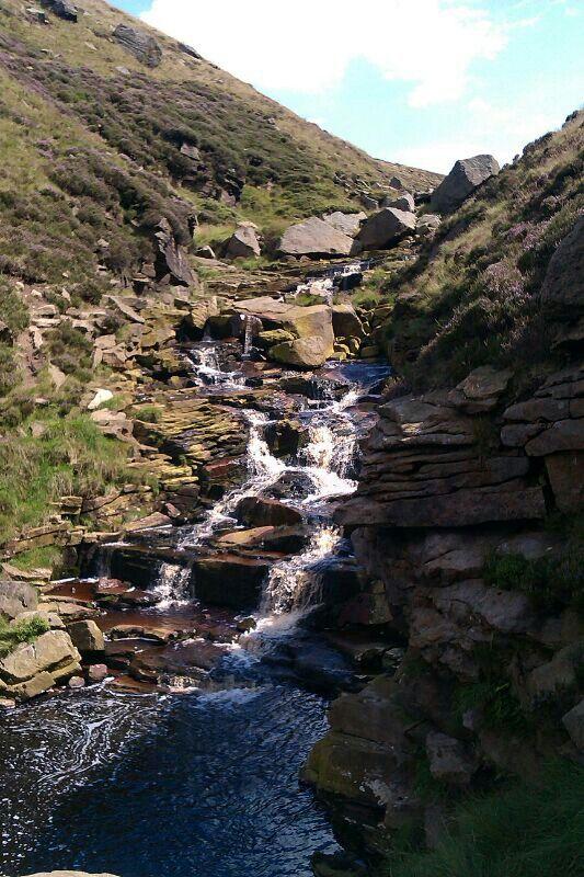 Dovestone reservoir, National park Oldham, Manchester