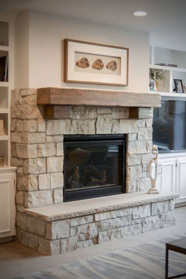 30 incredible fireplace ideas for your best home design - Stone veneer fireplace ideas ...