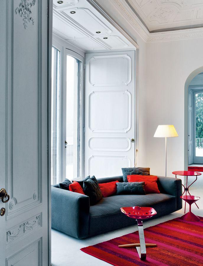 PIANOALTO #sofa designed for #Zanotta | #Palomba #design #furniture