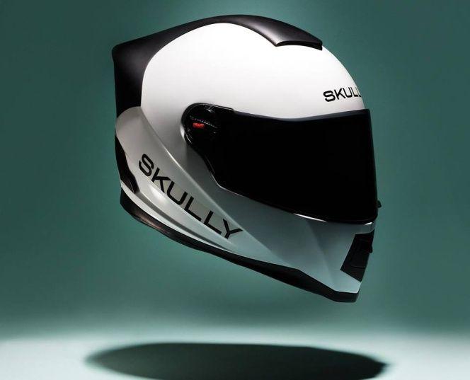 Skully AR-1, así es el casco inteligente que revolucionará los viajes en moto