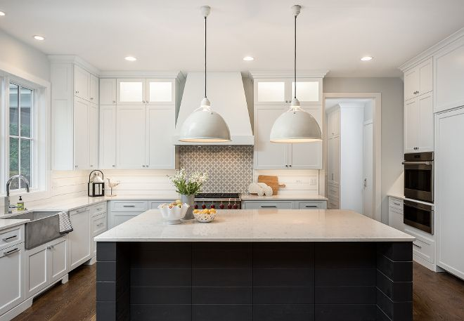 Sherwin Williams SW 7070 Site White Kitchen cabinet paint ...