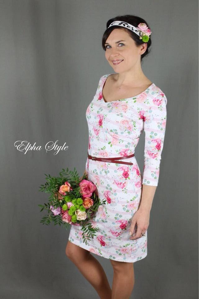 Kleid schnittmuster pinterest