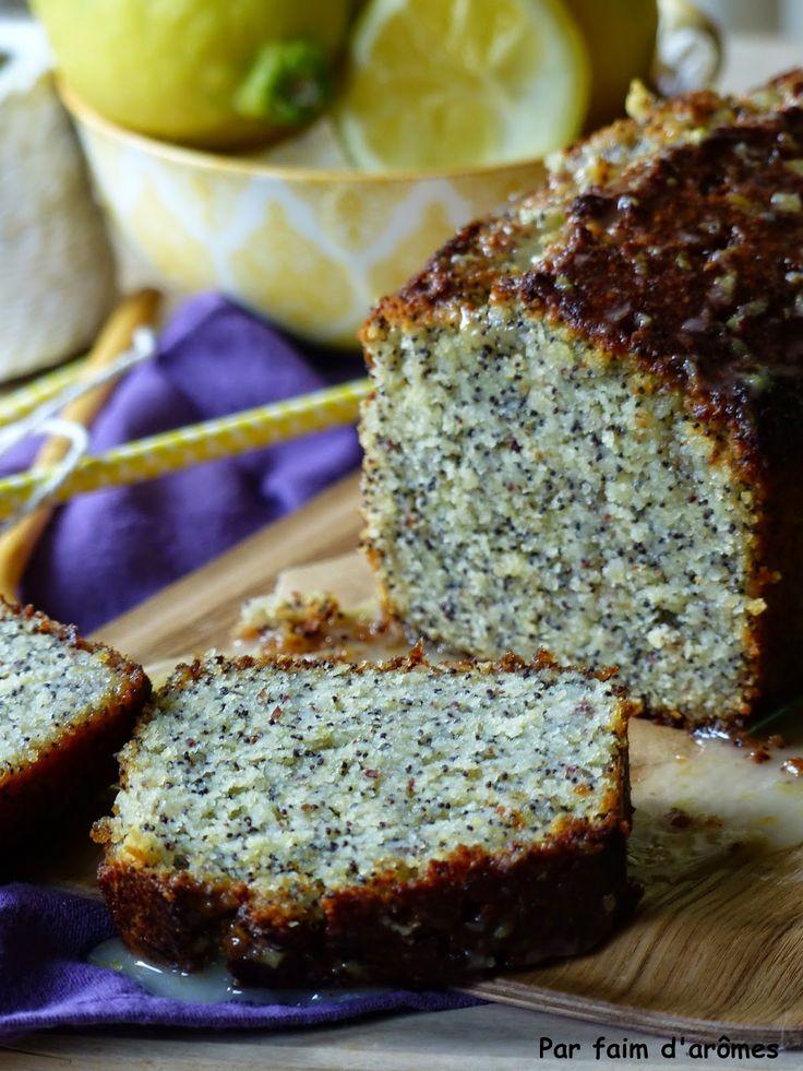 Cake citron pavot de Jamie Oliver