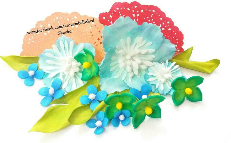 #Foamiran #flowers