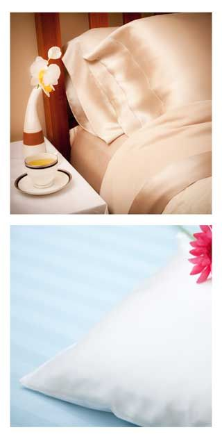 Silk vs. Satin Pillowcases http://www.lovasilk.com/blog/2011/september2011/silk-vs-satin-pillowcases