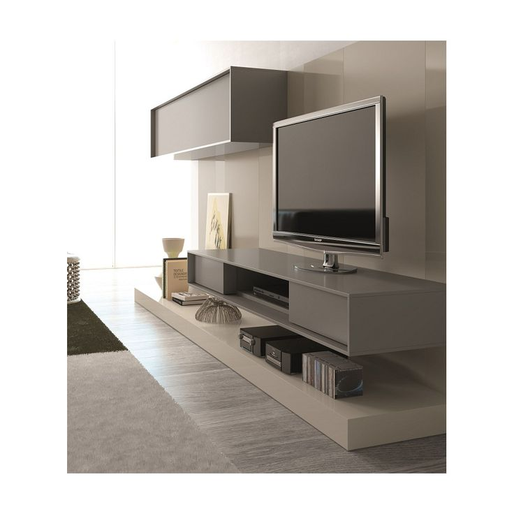 JM Furniture 117 Wall TV Unit
