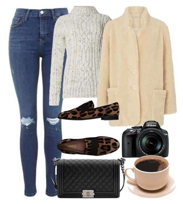 """Untitled #5907"" by rachellouisewilliamson on Polyvore featuring Topshop, Mes Demoiselles..., Bagatt, Chanel and Nikon"