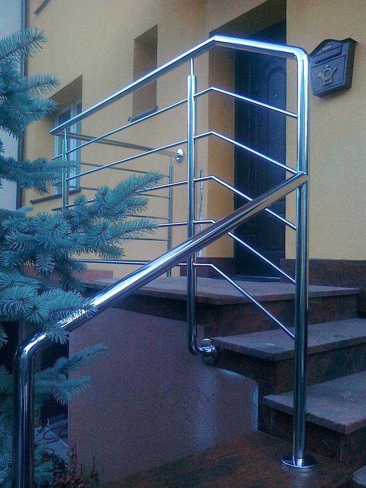 nierdzewna balustrada