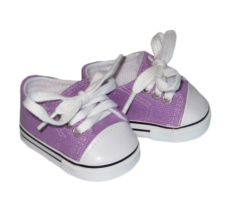 American Boy Doll Shoes.  Silly Monkey - Light Purple Low-Rise Canvas Sneakers, $6.50 (http://www.silly-monkey.com/products/light-purple-low-rise-canvas-sneakers.html)
