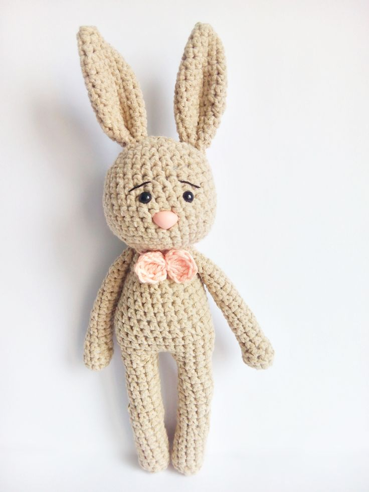 szydełko królik