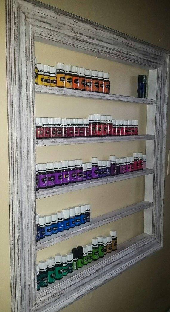 Nagellackständer, Nagellackablage, Regal für ätherische Öle, Ölablage, Halter für ätherische Öle, Wandregal zum Aufhängen, Nagellackhalter – Scrapbook Room