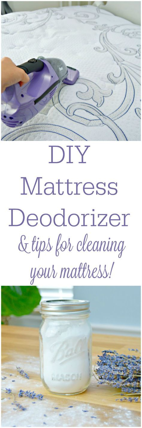How To Get A Clean Mattress and DIY Mattress Deodorizer
