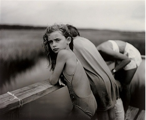 """Jessie in the Wind"" - Sally Mann"
