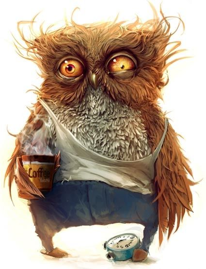 what i feel like when i get to work!: Quote, Coffee, Funny Stuff, Humor, Things, Mornings, Owls