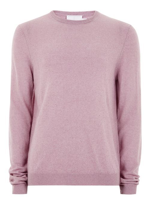 Pull rose en cachemire - Pulls & Gilets Homme - Vêtements - TOPMAN FRANCE