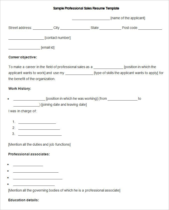 Sample Professional Sales Resume Template , Write Your Resume Much Easier with Sales Resume Examples , Sales resume examples are usually easy to find with various formats and writing methods. Sales resume itself covers wide ranges of sales such as insur...