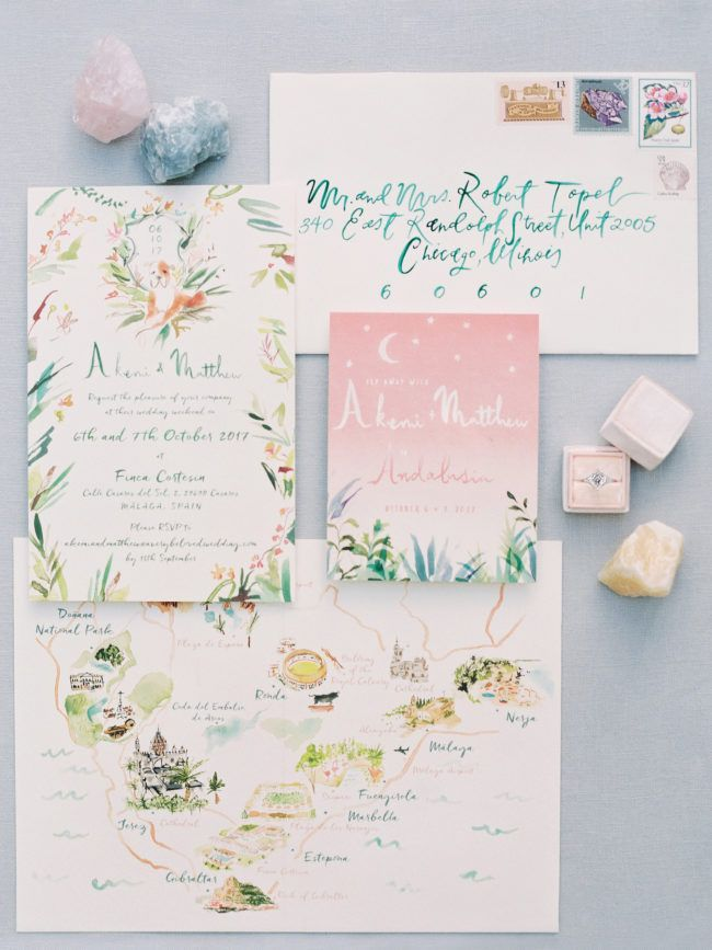 Mediterranean Inspired Wedding At A Country Estate In Marbella
