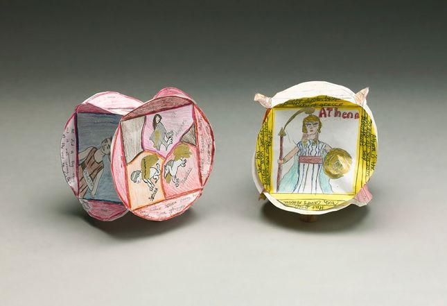 Greek Mythology Character Cubes | crayola.com