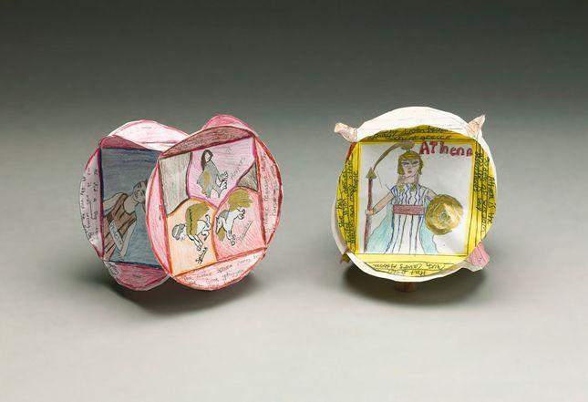 Greek Mythology Character Cubes | crayola.com