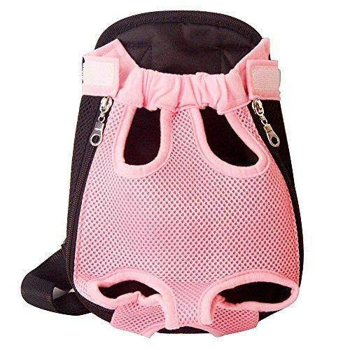 4b50b4122278 YINGJEE Legs Out Front Pet Dog Carrier Travel backpack breathable ...