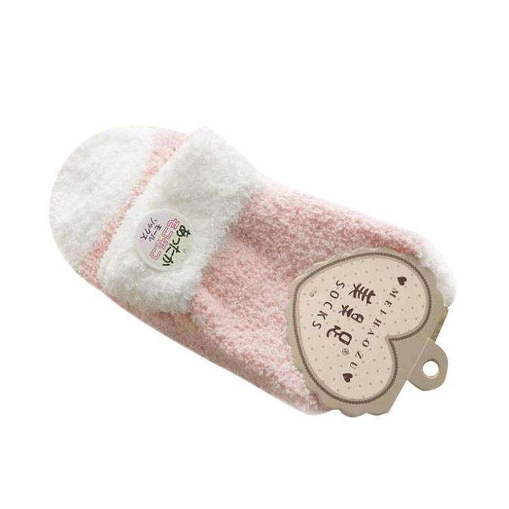Women   Comfort Warm Coral Cashmere Winter Socks Skiing Socks happy socks meias para bebe chaussettes