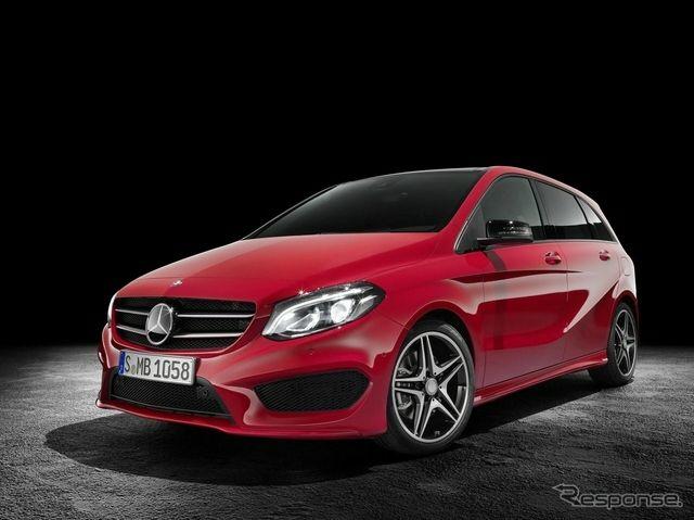 AMG Mercedes-Benz B class improvement of new line
