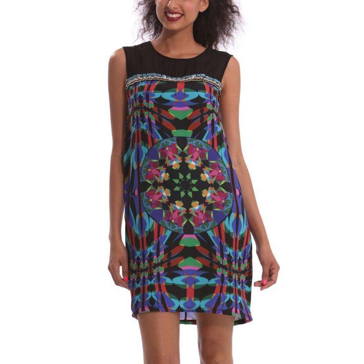 Vestido primavera-verano Desigual 2014  99€ -15% 84,15€  #Spring #elplanetadelasmarcas.es #welovefashion #vestido #dress #casualstyle #desigual #wov21