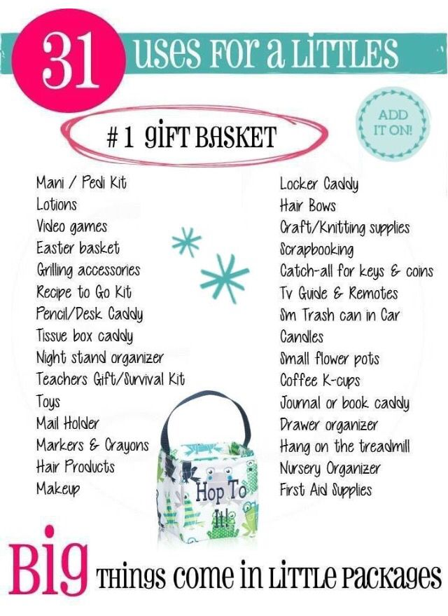Love using the Littles Carry-All for gift-giving! New Spring 2015 Thirty-One prints available now!