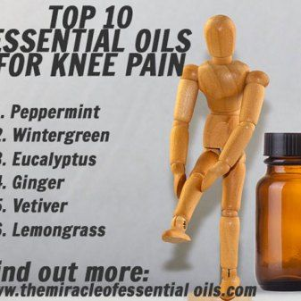 10 Essential Oils for Knee Pain and Swelling & How to Use