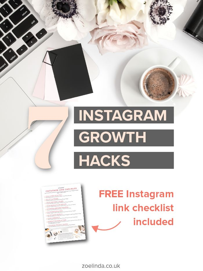 7 Instagram Growth Hacks: How To Authentically Grow Your Following And Engagement On Instagram   Sick of spam comments and the follow/unfollow method on Instagram? You're not the only one! Instead of losing faith in Instagram, there are 7 things you can easily do to help boost your presence and connect with your audience on Instagram. Click here to read my guide and grab your FREE checklist! Perfect for bloggers, creative entrepreneurs, and small business owners!
