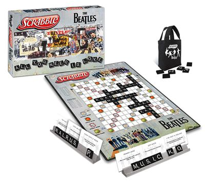 Brand New! SCRABBLE®: The Beatles Edition.
