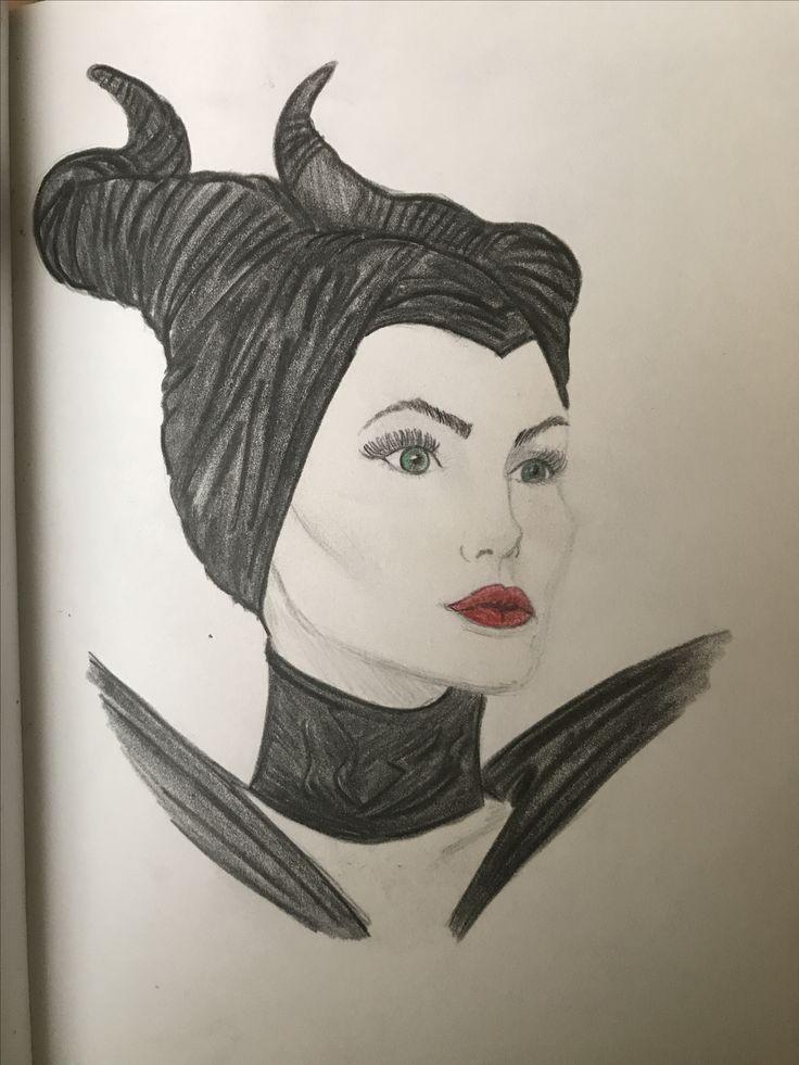 Maleficent drawing Disney