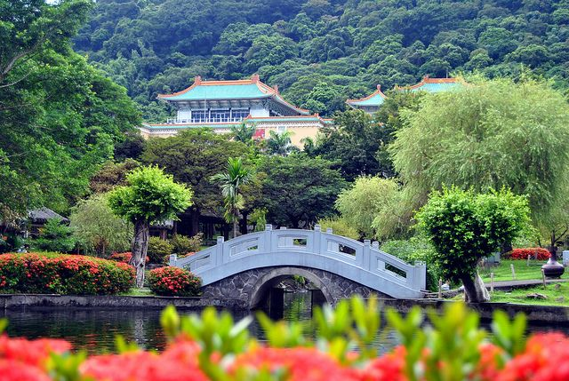 National Palace Museum, Taipei, Taiwan - largest collection of ancient Chinese artifacts and artwork