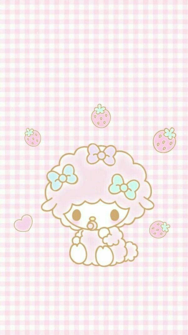 Telefon Hintergründe, Iphone Hintergrundbilder, Hallo Kitty, Baby Lamb,  Sanrio, Geburtstag Ideen, Fixierte, Cute Abbildungen, Kawaii Background