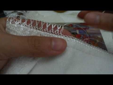 iğne oyası havlu kenarı - YouTube