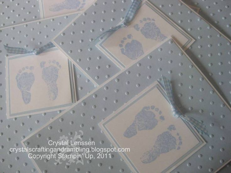 Ten Tiny Toes by happy2stamp4ever - Cards and Paper Crafts at Splitcoaststampers