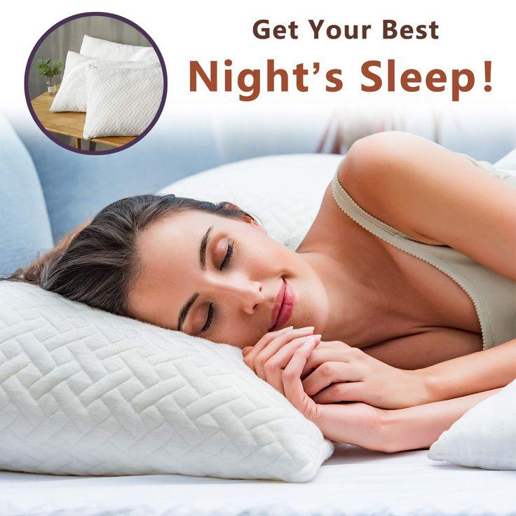 Hoperay bed pillows sleeping shredded memory foam pillow