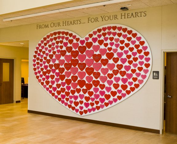 Bethesda Heart Hospital Donor Recognition Wall by Randy Burman, via Behance