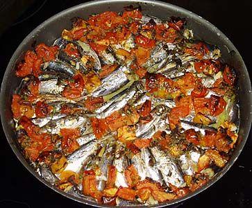 Baked Sardines ~ Σαρδέλες στο φούρνο