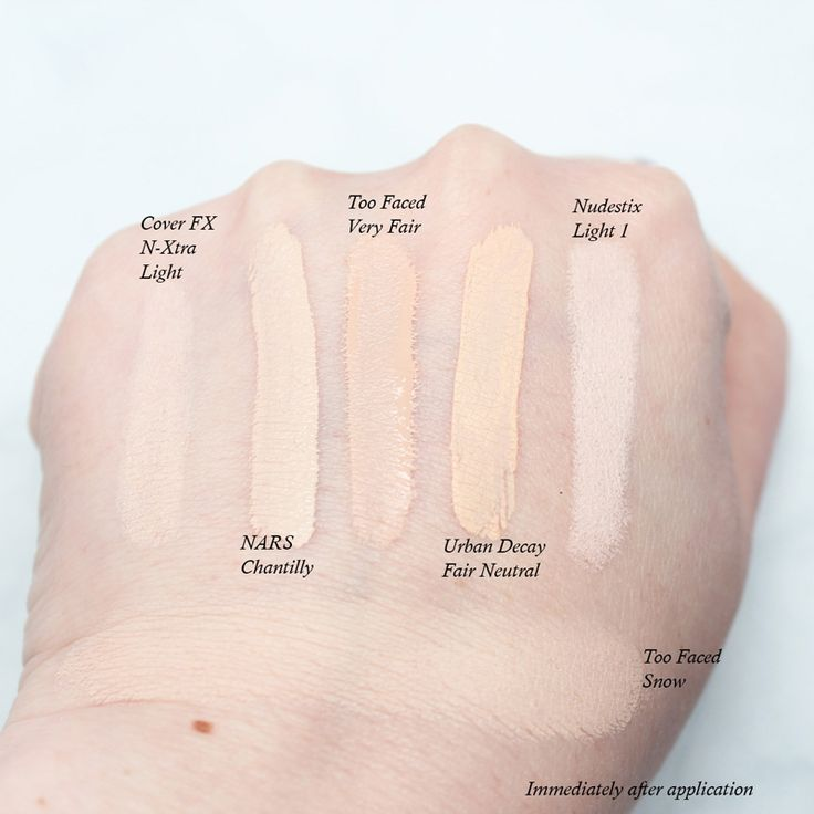 Too Faced Born This Way Concealer In Very Fair The Pale