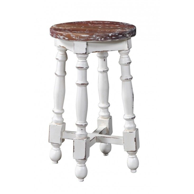 Adams Round Counter Stool: Crafted From Our Sustainable Mahogany, This Bar  Stool Is Steeped