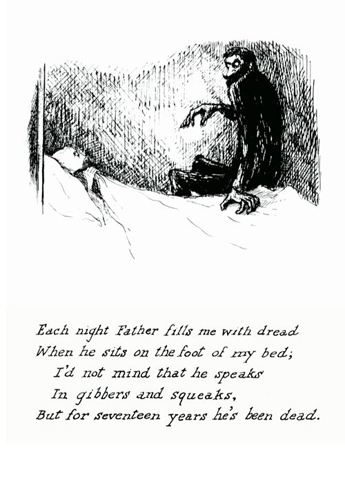 Sweet poem. Scary poem.: Bedtime Stories, Creepy, Happy Birthday, Scary Stories, Poems, Father Day, Art, Edward Gorey, Happy Halloween