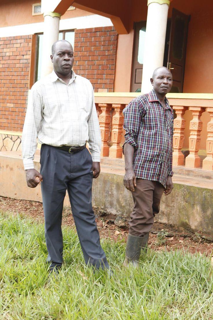 Nelson Basaalidde and Samuel Kiggundu