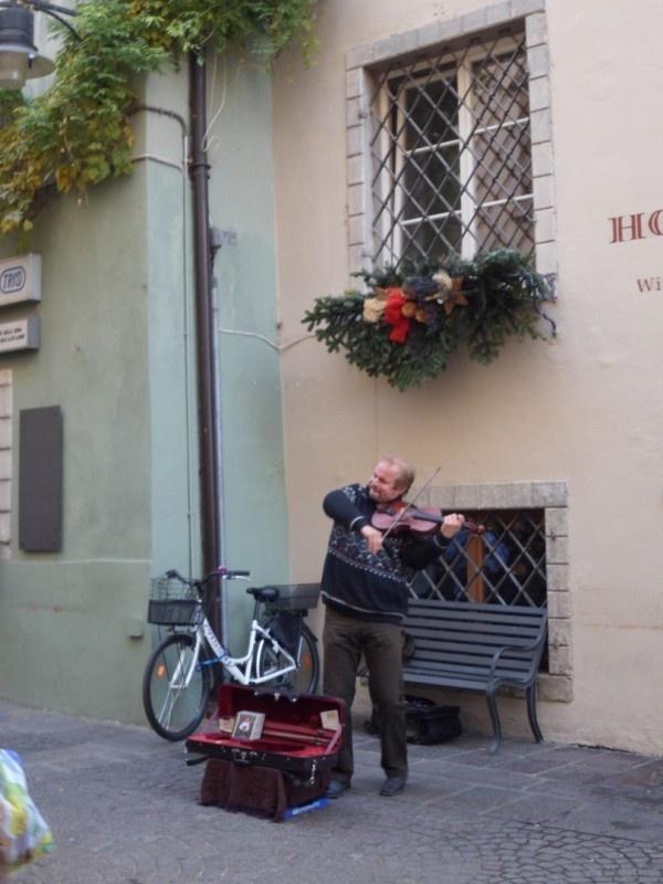 Fiddler in Bolzano