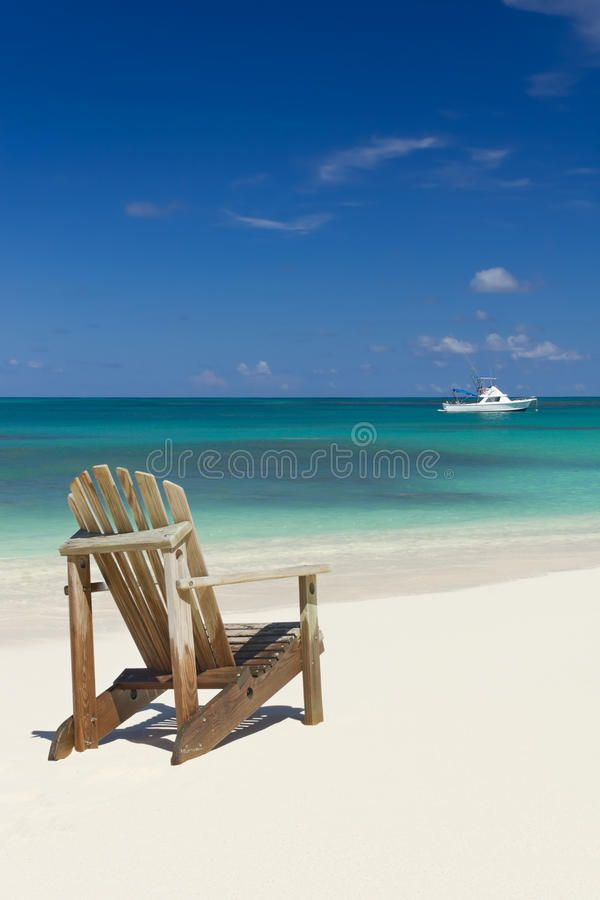 Beach Chair On Sand Beach Chair On White Sand Beach With White Boat On Backgrou Aff Sand White Beach Chair Beach Ad Beach Chairs Sand Beach
