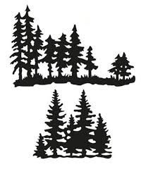 Image result for tree line silhouette