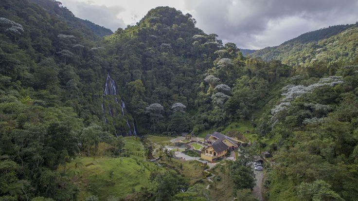Vista panorámica del Balneario de Termales Santa Rosa de Cabal