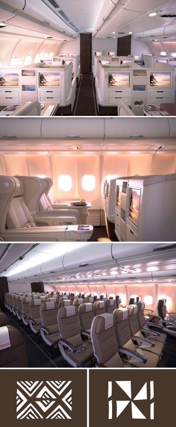 Fiji Airways New Airplane Interior Design for 2013